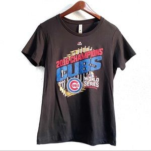 Chicago Cubs 2016 World Series Graphic T-Shirt L